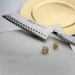 Нож кухонный стальной Сантоку 18 см ARCOS Riviera Blanca арт. 233524W