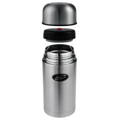 Термос для еды Biostal (0,5 литра) в чехле, стальной NT-500