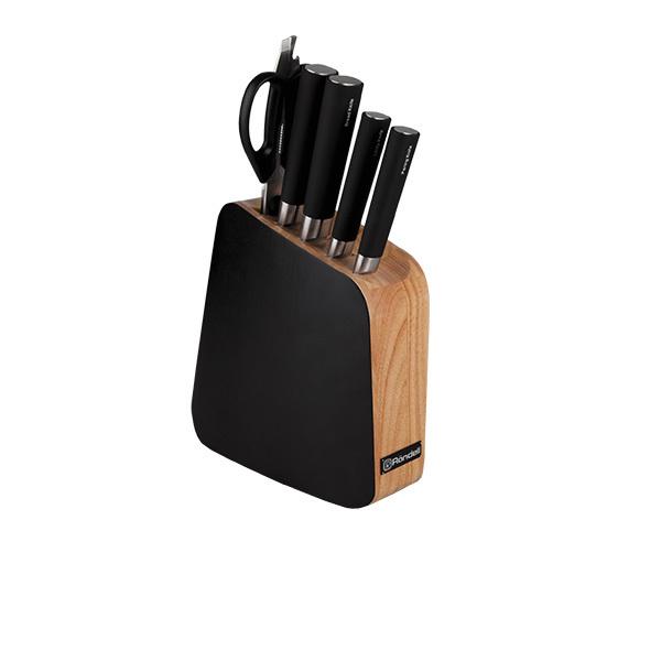 Набор из 4 кухонных ножей, ножниц и подставки Rondell Balestra RD-484