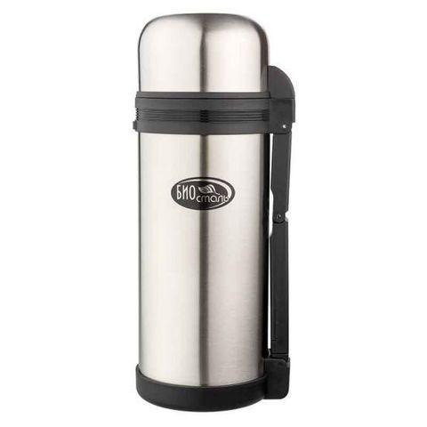 Термос универсальный (для еды и напитков) Biostal (1,5 литра) стальной