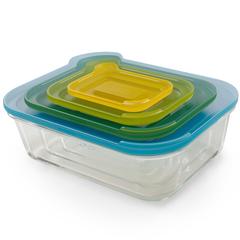 Набор из 4 стеклянных контейнеров Joseph Joseph Nest 81060*