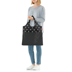 Сумка складная Mini maxi shopper plus mixed dots Reisenthel AV7051