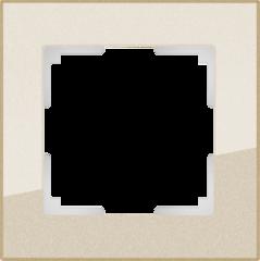 Рамка на 1 пост (шампань) WL01-Frame-01 Werkel
