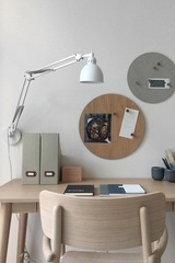 Лампа настенная Job, белая матовая Frandsen 41486601101