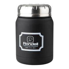 Термос для еды 0,5л Rondell Black Picnic RDS-942