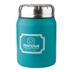 Термос для еды 0,5л Rondell Turquoise Picnic RDS-944