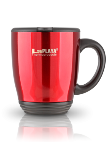 Термокружка La Playa DFD 2040 (0,45 литра) красная