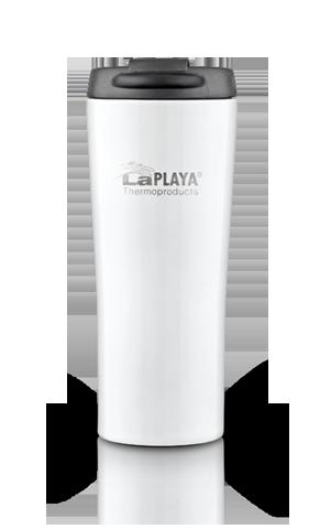 Термокружка La Playa Vacuum Travel Mug (0,4 литра) белая