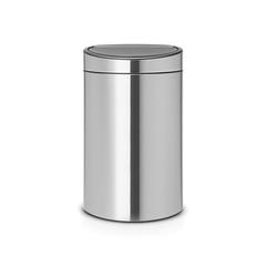 Двухсекционный мусорный бак Touch Bin New 10/23 л матовый Brabantia 100680