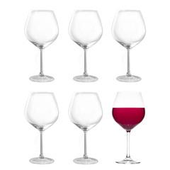 Набор из 6 бокалов для вина 750мл Stolzle Grand CuveeInVino