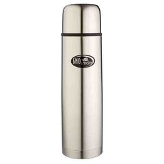 Термос Biostal (1 литр) 2 пробки, стальной NB-1000
