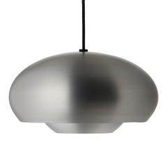 Лампа подвесная Champ, D30 см, серебряная матовая Frandsen 15759405001
