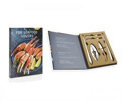 Подарочный набор из 10 принадлежностей для морепродуктов Andrea House CC67011