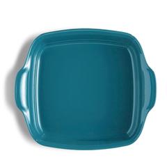 Форма для запекания 28x23 см Emile Henry квадратная (цвет: лазурь) 602050