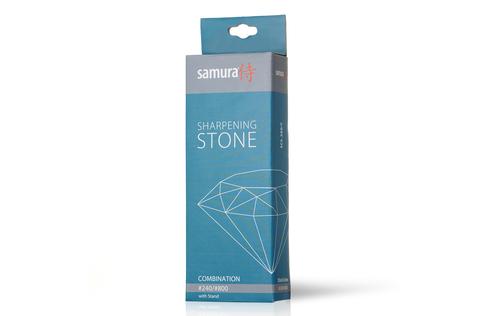 Камень точильный водный комбинированный #240/#800 Samura SCS-280/С