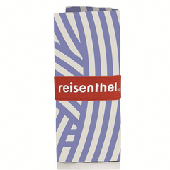 Сумка складная Mini maxi shopper zebra blue Reisenthel AT0033B