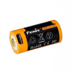 Аккумулятор 16340 Fenix ARB-L16 700 mAh Li-ion с разъемом для USB ARB-L16-700U