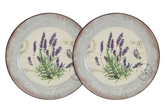 Набор из 2-х десертных тарелок Лаванда Anna Lafarg LF Ceramics 55281