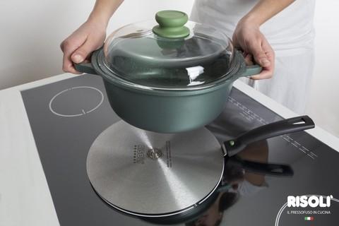 Адаптер Risoli Premium 22см для индукционной плиты 020080/22A00