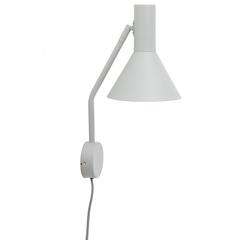 Лампа настенная Lyss, светло-серая матовая Frandsen 4509_36011