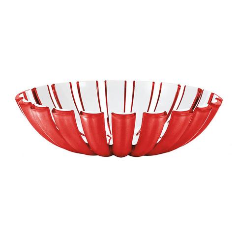 Блюдо глубокое Guzzini Grace красное 29740065