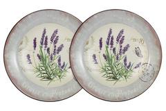 Набор из 2-х суповых  тарелок Лаванда Anna Lafarg LF Ceramics 55283
