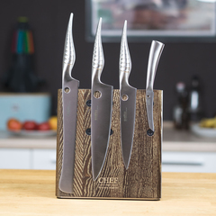 Комплект из 4 ножей Samura REPTILE и подставки