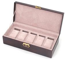 Шкатулка для мужских аксессуаров Jardin D'Ete, цвет коричневый,