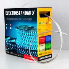 Светодиодная лента LSTR001 220V 4,4W IP65 зеленый Elektrostandard