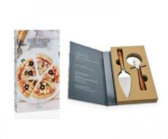 Подарочный набор нож и лопатка для пиццы Andrea House CC68031