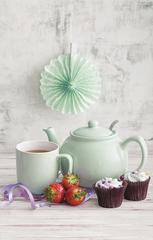 Чайник заварочный Pastel Shades 1,1 л мятный P&K P_0056.768