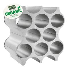 Подставка для бутылок SET-UP Organic, серая Koziol 3596670