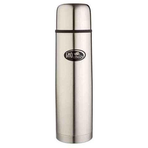 Термос Biostal (0,75 литра) 2 пробки, стальной