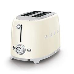 Тостер на 2 ломтика Smeg (Кремовый) TSF01CREU