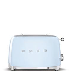 Тостер на 2 ломтика Smeg (Пастельный голубой) TSF01PBEU