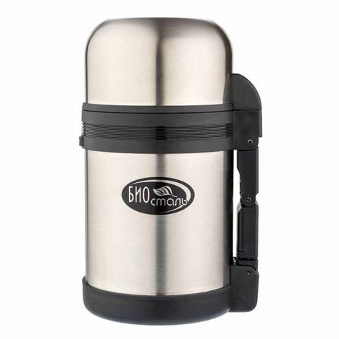 Термос универсальный (для еды и напитков) Biostal (1 литр) стальной