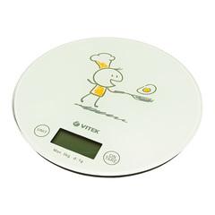 Весы кухонные  VITEK VT-8018(W)