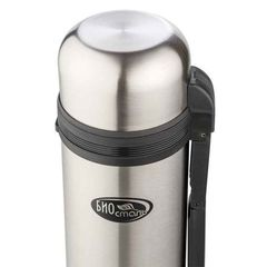 Термос универсальный (для еды и напитков) Biostal (1,8 литра) стальной NG-1800-1