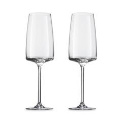 Набор бокалов для игристых вин Light and Fresh, объем 388 мл, 2 шт, Zwiesel Glas Vivid Senses арт. 122430