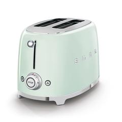 Тостер на 2 ломтика Smeg (Пастельный зеленый) TSF01PGEU