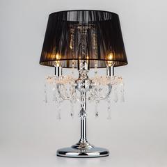 Настольная лампа Eurosvet Allata 2045/3T хром/черный настольная лампа