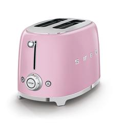 Тостер на 2 ломтика Smeg (Розовый) TSF01PKEU