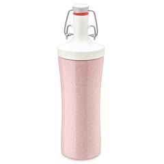 Бутылка для воды PLOPP TO GO Organic 425 мл розовая Koziol 3796315