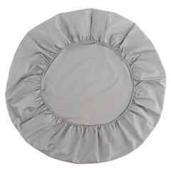 Простыня круглая на резинке из сатина светло-серого цвета из коллекции Essential, 75х75х20 см Tkano TK20-KIDS-FS0032