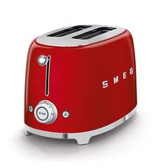 Тостер на 2 ломтика Smeg (Красный) TSF01RDEU
