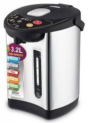 Термопот Sinbo (3,2 литра) 730 Вт, черный/серебристый SK 7380