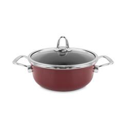 Кастрюля эмалированная 20 см (2,8л.) KOCHSTAR Copper Core Cookware арт. 32603020