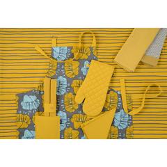 Набор салфеток под приборы из хлопка горчичного цвета из коллекции Prairie, 35х45 см Tkano TK20-PS0002