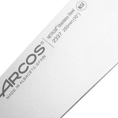 Нож кухонный стальной Шеф 25 см ARCOS Riviera арт. 2337