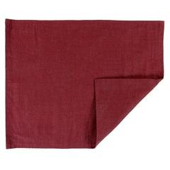 Двухсторонняя салфетка под приборы из умягченного льна с декоративной обработкой Tkano TK18-PM0010